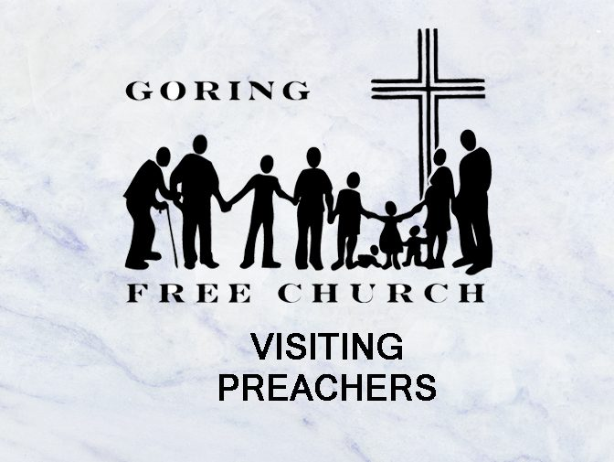 Visiting Preacher - Peter Downham Image