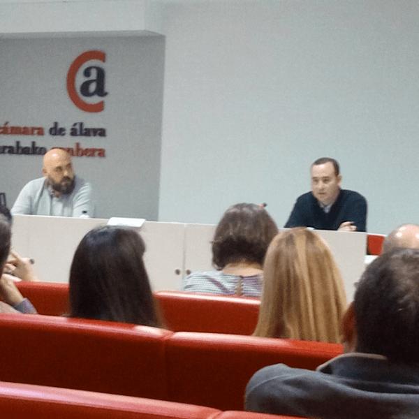 Francisco Javier Abrego de TweetBinder: Jornada de Clausura del Máster Social Media Alava
