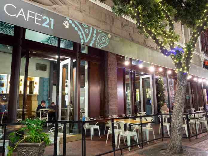 Cafe 21 - Gaslamp, Downtown - Go San Diego