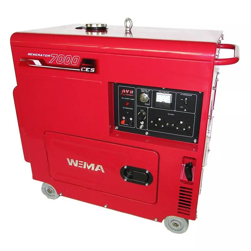 Wiema Diesel Generator -WM7000CES