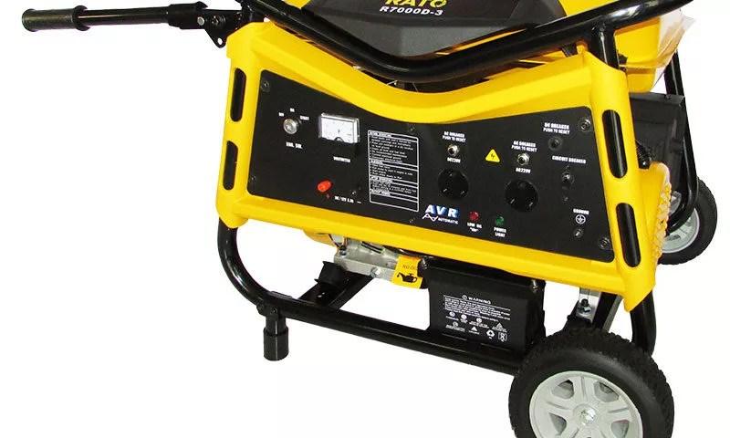 Petrol Generators - R7000D-3