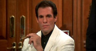 Robert Davi stars as the central villain in Licence to Kill