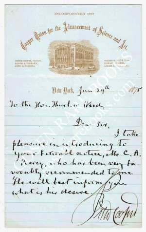 Peter-Cooper-Signed-Letter