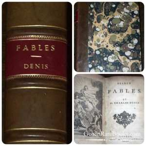 Denis-Charles-Select Fables-1754