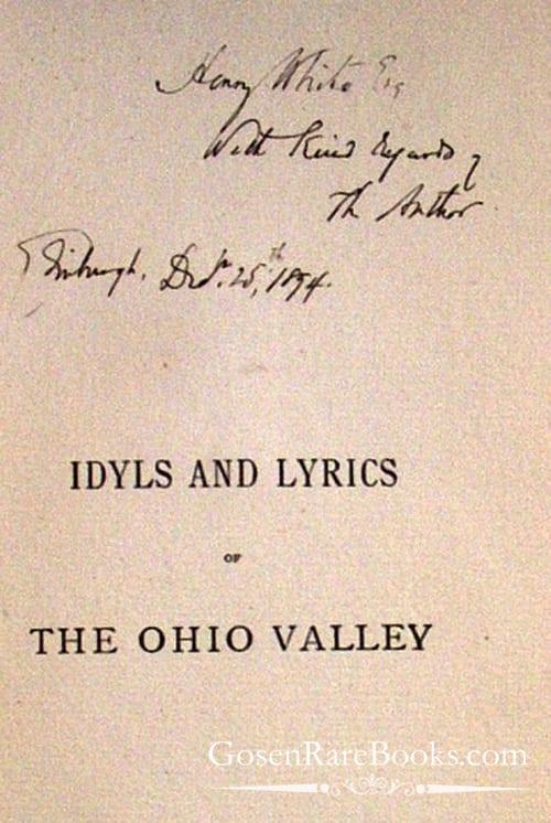 Idyls and Lyrics - John Piatt