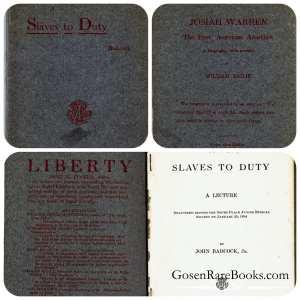 Badcock, John Jr - SLAVES TO DUTY