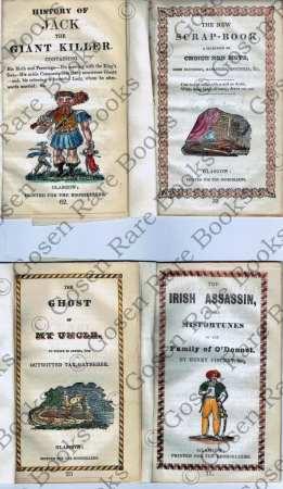 Ten Nineteenth Century English and Irish Chap Books