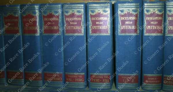 Enciclopedia Dello Spettacolo - 1975