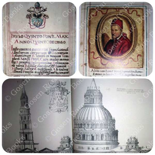 Papal Tombs in old St. Peter's Basilica