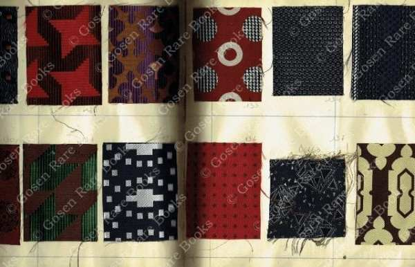 French Swatch-Book for Silk Neckties