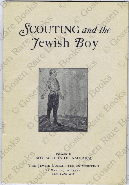 Scouting and the Jewish Boy