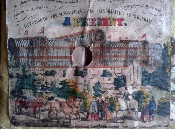 Peep Show | Interior of Magnificent New Crystal Palace at Sydenham 1854