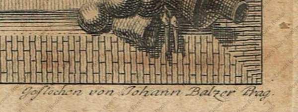 Graf von Wurmser, K.K. Feld Marschall Lieutenamt | Engraved Portrait