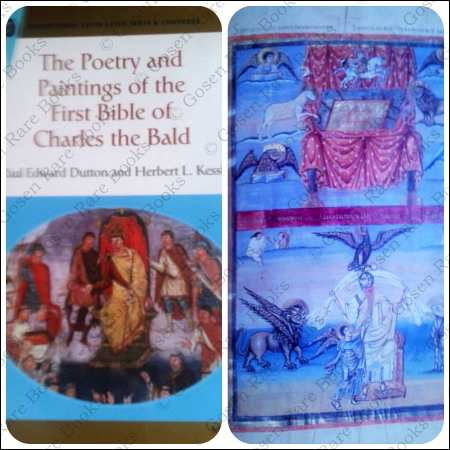 Poetry and Paintings of First Bible of Charles the Bald