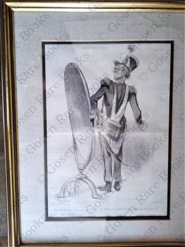 Daumier, Honoré-Victorin | Original Lithograph from Série Coquetterie