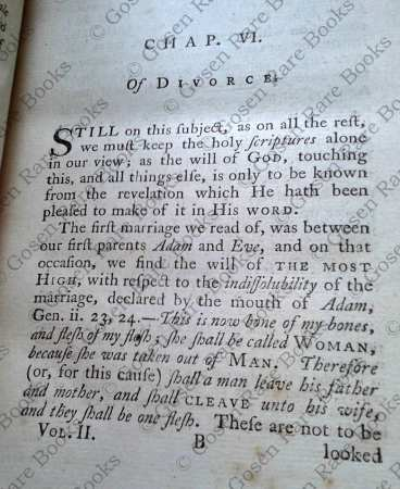Rev Martin Madden's Thelyphthora; His Scriptural Defense of Polygamy 1781