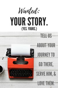 wanted your story