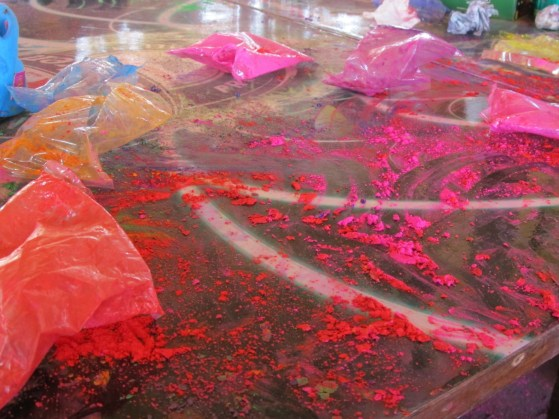 Holi festival in Goa