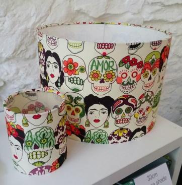 Sugar Skull Lampshade & Lantern