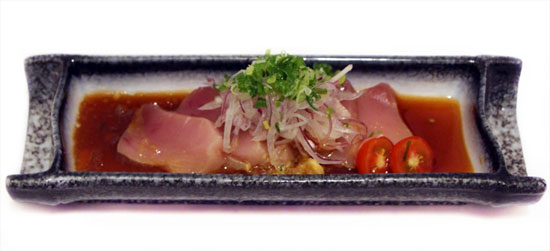Tataki of your choice (6pc) -$15