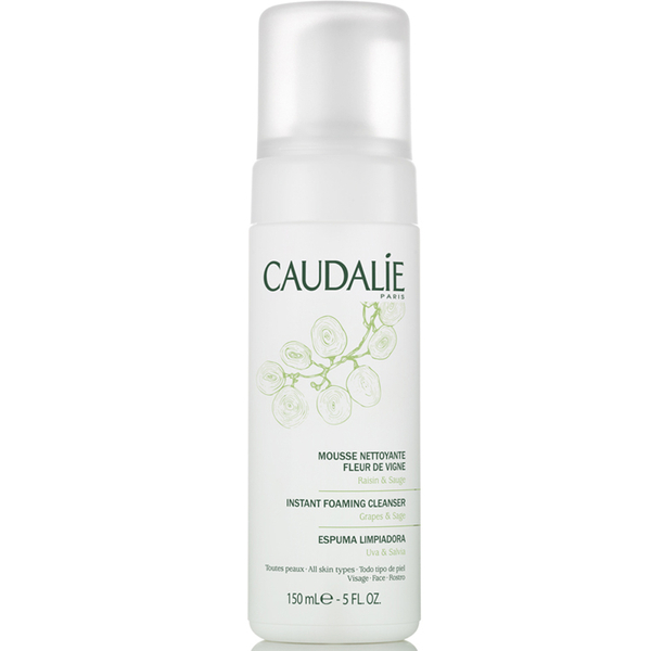 Caudalie Instant Foaming Cleanser - Best Gentle Facial Cleansers / Washes For Oily/Combination Skin To Use In The Morning