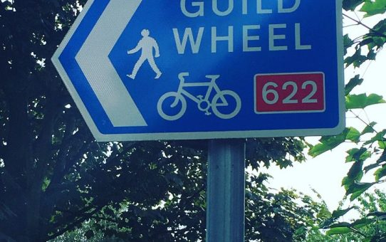 Guild Wheel Cycle Sign