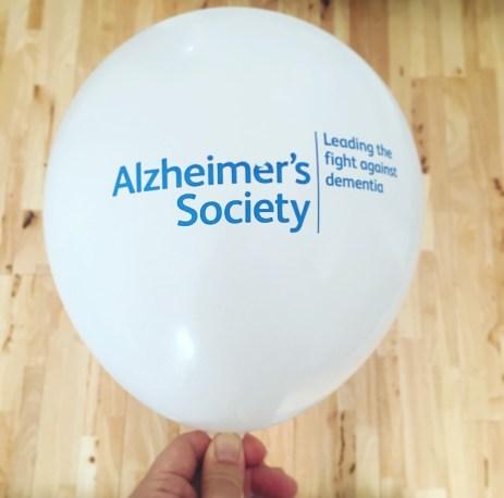 Charity - Alzheimer's balloon