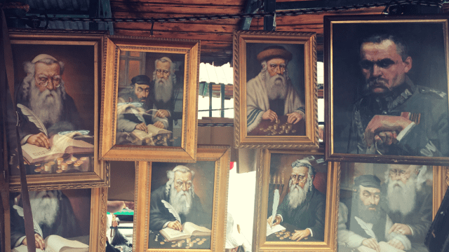 Jews antique stalls