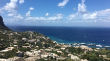 Capri - the view from Piazzetta