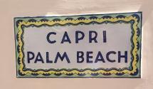 Capri - sign