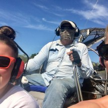 Everglades air boat