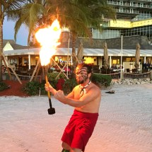 Marco Island Fire Dancer