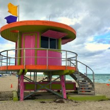 Miami Beach Pink Hut