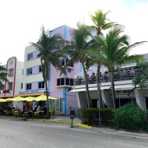 Ocean Drive art deco building