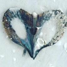 Shell heart shaped