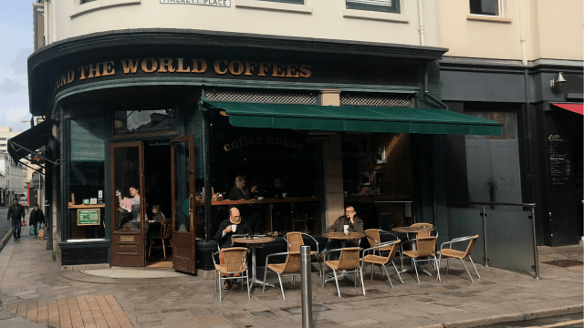 St Helier Coffee shop