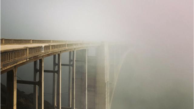 Foggy Bixby Bridge