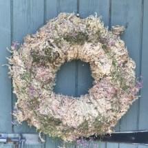 Wreath pop up garden