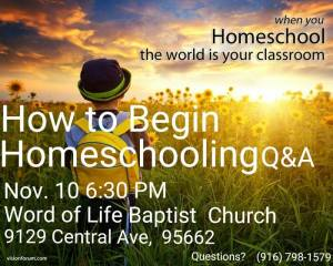 homeschool q and a
