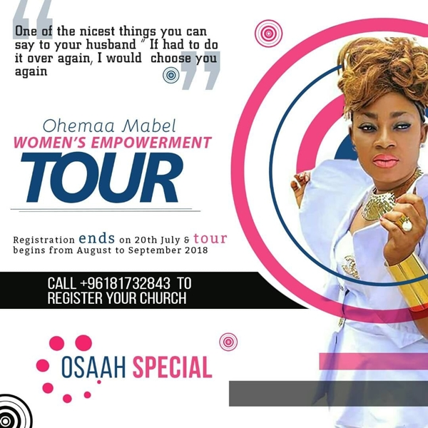 Women's Empowerment Tour With Ohemaa Mabel
