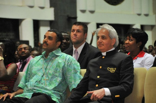 Dag Heward Mills and Benny Hinn