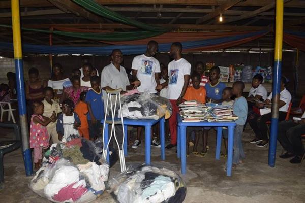 Ernest Opoku Jnr Donations