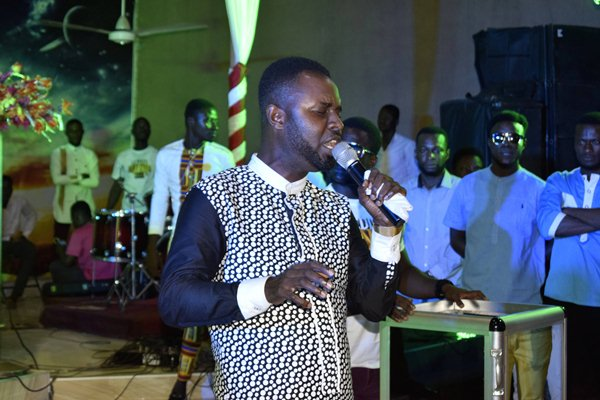 Ernest Opoku Jnr at Isaac Frimpong Album Launch