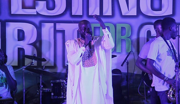 Gregory Osei at Isaac Frimpong Album Launch