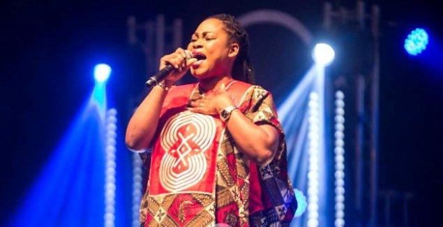 Joyce Blessing Thrill Fans at Zylofon Launch in Nigeria