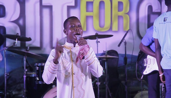 Ngosra Bismark at Isaac Frimpong Album Launch