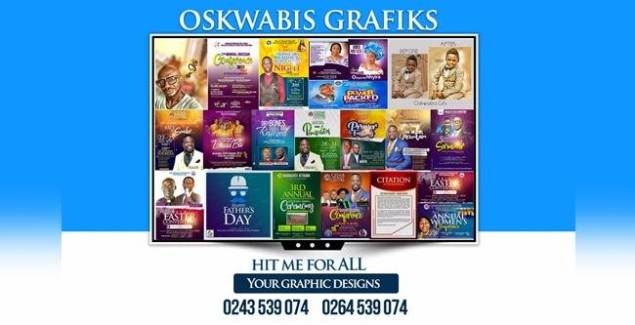 Oskwabis Grafiks Taking Over in Ghana