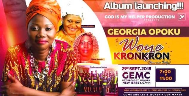 Georgia Opoku Set to launch Album