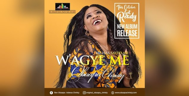 Obaapa Christy Reveals Wagye Me Album Cover