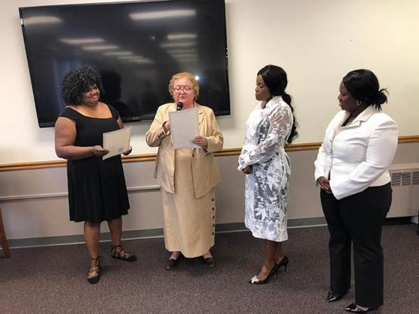 Ohemaa Mercy honored with City Key of Cincinnati 8